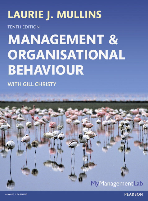 Pearson management and organisational behaviour 10e laurie j view larger cover fandeluxe Images