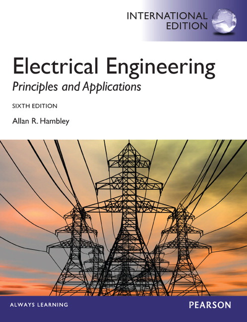 Electrical Engineering Textbook Pdf: Pearson - Electrical Engineering:Principles and Applications rh:catalogue.pearsoned.co.uk,Design