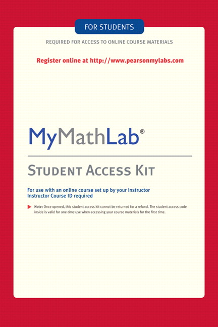 Pearson mylab math standalone access card 4e pearson view larger cover fandeluxe Image collections