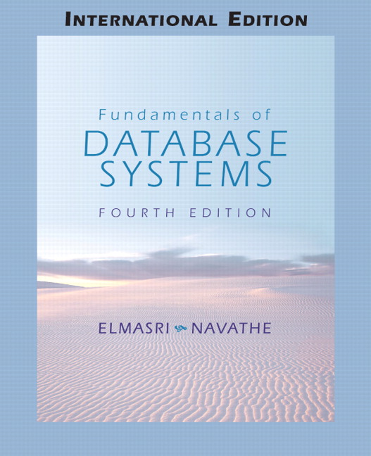 pearson fundamentals of database systems international edition 4 rh catalogue pearsoned co uk