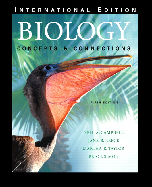 Pearson biology concepts connections with student cd rom view larger cover fandeluxe Images
