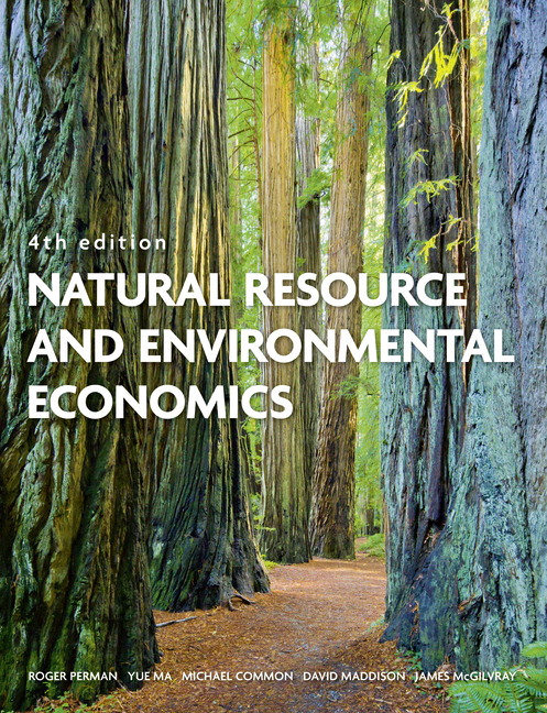 Pearson natural resource and environmental economics 4e roger view larger cover fandeluxe Image collections