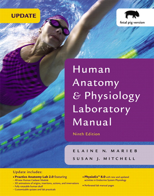 Pearson - Human Anatomy & Physiology Laboratory Manual with PhysioEx ...