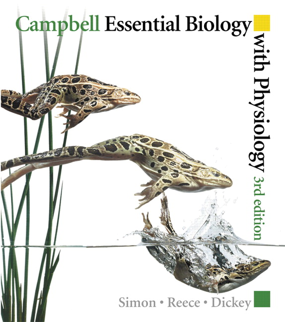 Pearson campbell essential biology with physiology 3e eric j view larger cover campbell essential biology fandeluxe Images