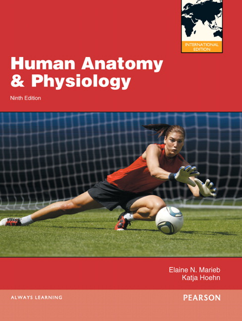 Pearson Human Anatomy Physiology International Edition 9e