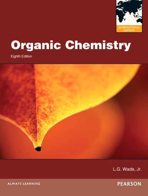 Pearson organic chemistry international edition 8e leroy g wade view larger cover organic chemistry international edition fandeluxe Gallery