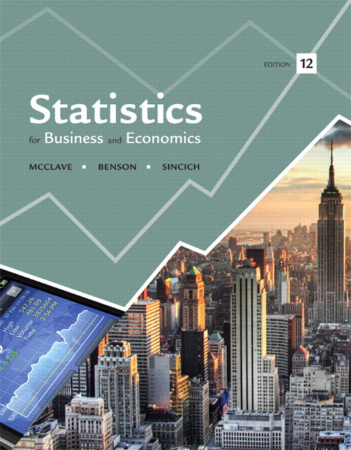 Pearson statistics for business and economics plus new mylab view larger cover fandeluxe Images