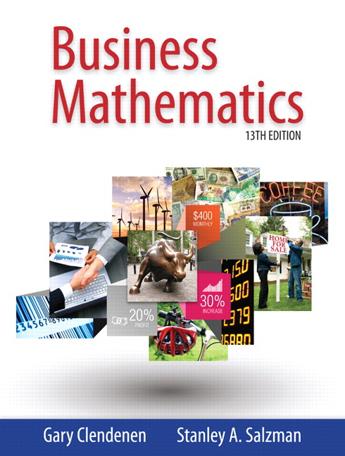 Pearson business mathematics 13e gary clendenen stanley a view larger cover business mathematics fandeluxe Choice Image