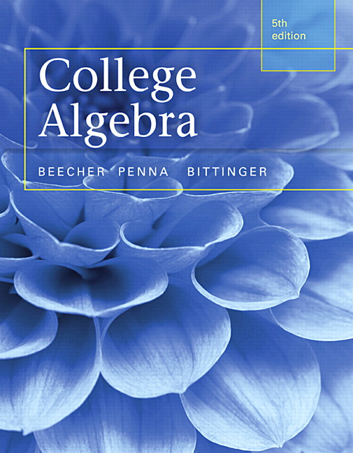 Pearson - College Alge plus MyLab Math with Pearson eText ...