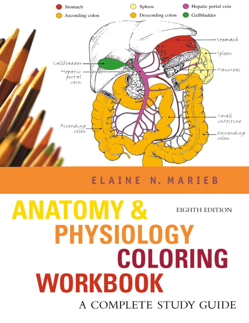 Pearson - Anatomy & Physiology Coloring Workbook: A Complete Study ...