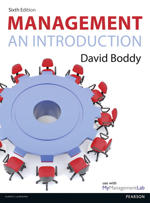 Pearson management an introduction 6e david boddy view larger cover fandeluxe Choice Image