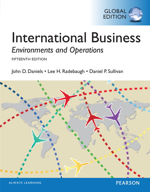 Pearson international business global edition 15e john d view larger cover fandeluxe Image collections