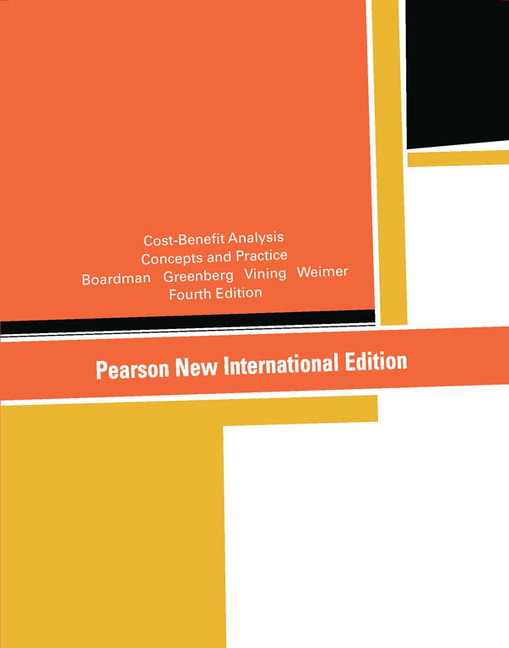 pearson cost benefit analysis pearson new international edition rh catalogue pearsoned co uk Cost vs Benefit Analysis Template Benefits Outweigh Costs