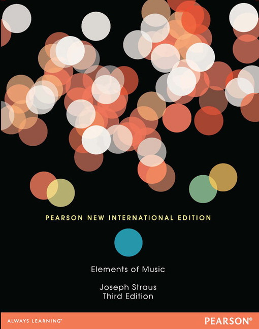 Pearson elements of music pearson new international edition 3e view larger cover fandeluxe Images