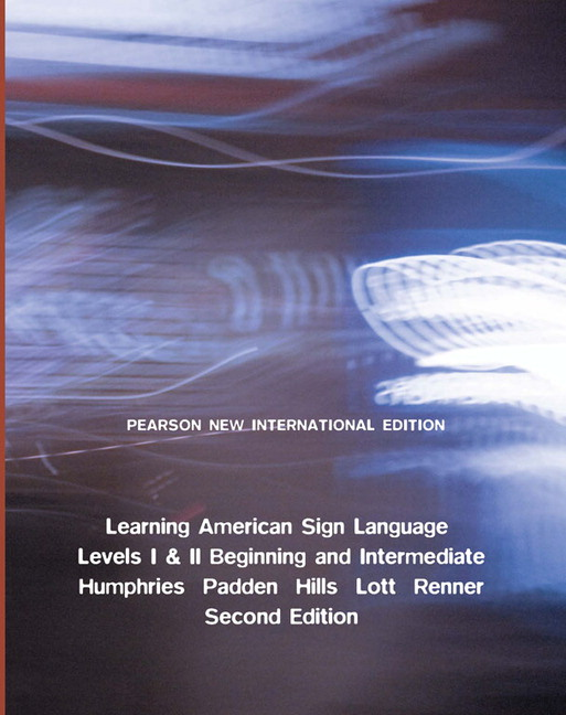 Pearson learning american sign language pearson new view larger cover learning american sign language pearson new international edition pdf ebook levels i ii beginning intermediate fandeluxe Choice Image