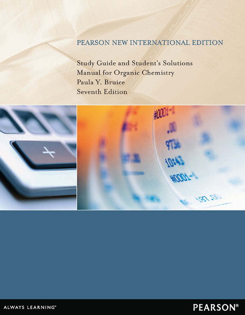 Pearson study guide and students solutions manual for organic view larger cover study guide and students solutions manual for organic chemistry pearson new international edition pdf fandeluxe Images