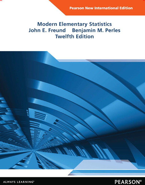 Pearson modern elementary statistics pearson new international view larger cover modern elementary statistics pearson new international edition pdf ebook fandeluxe Gallery