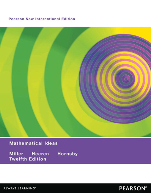 Pearson mathematical ideas pearson new international edition pdf view larger cover mathematical ideas pearson new international edition pdf ebook fandeluxe Gallery