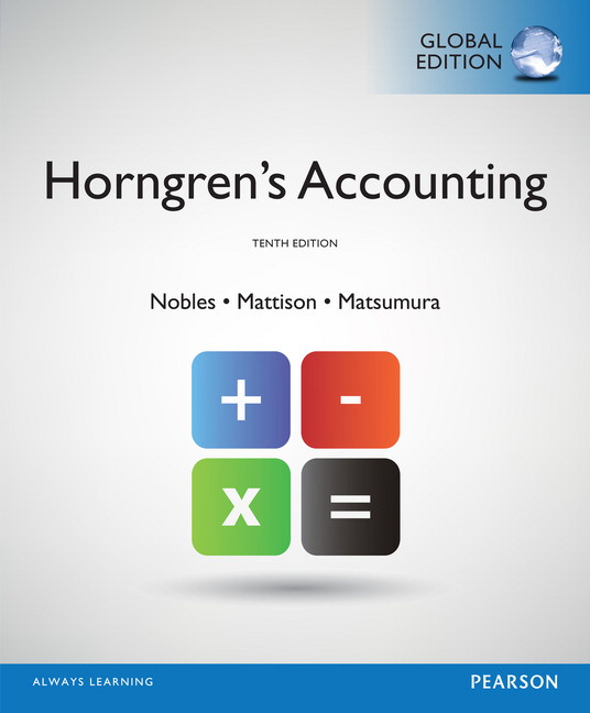 Pearson horngrens accounting global edition 10e tracie l view larger cover fandeluxe Images