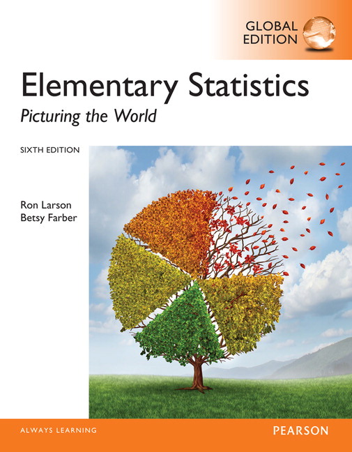 Pearson elementary statistics picturing the world global edition view larger cover elementary statistics fandeluxe Images