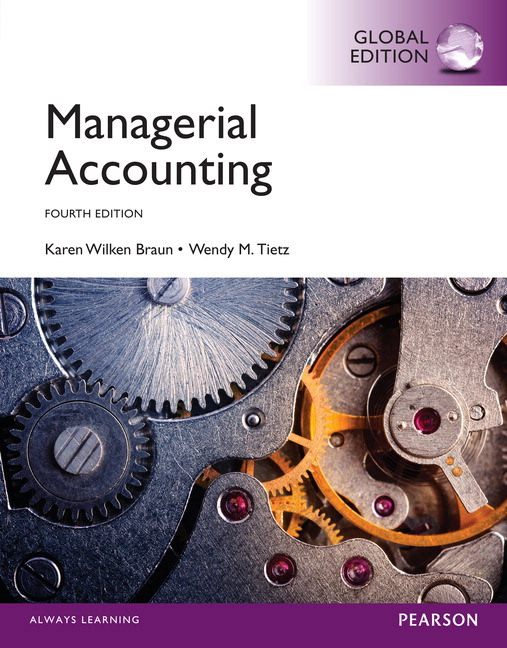 Pearson managerial accounting with myaccountinglab global edition view larger cover fandeluxe Images