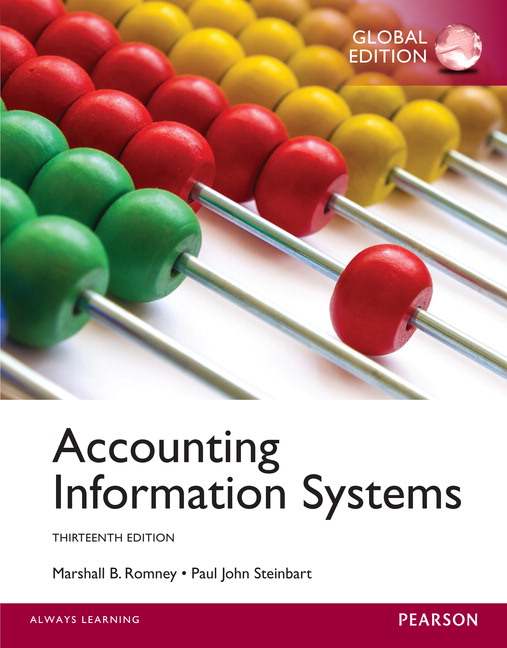 Pearson - Accounting Information Systems, Global Edition, 13/E ...
