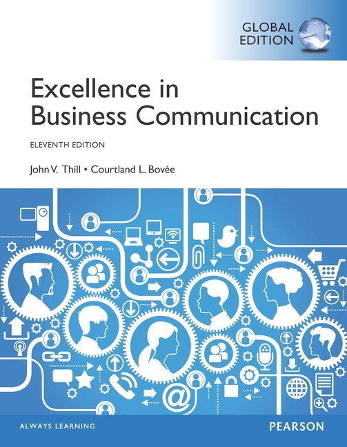 Pearson excellence in business communication global edition 11e view larger cover fandeluxe Gallery