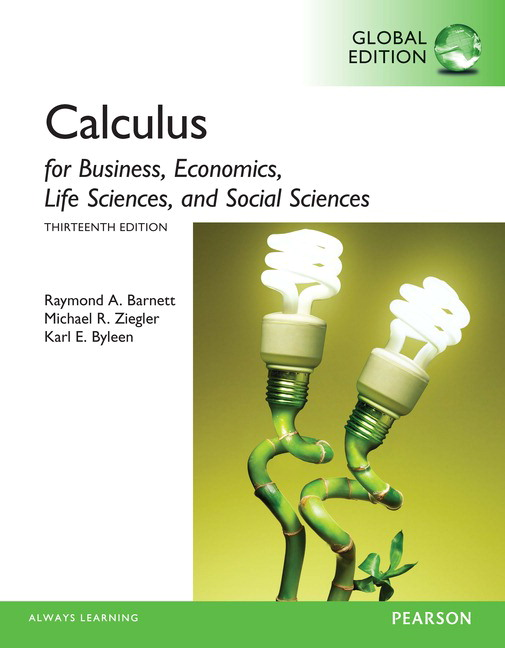 Pearson calculus for business economics life sciences and social view larger cover calculus for business fandeluxe Choice Image
