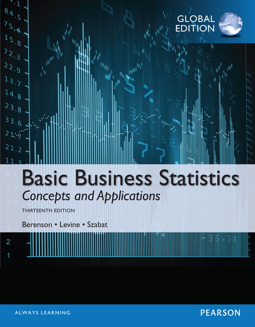 Pearson basic business statistics global edition 13e mark l view larger cover basic business statistics fandeluxe Image collections