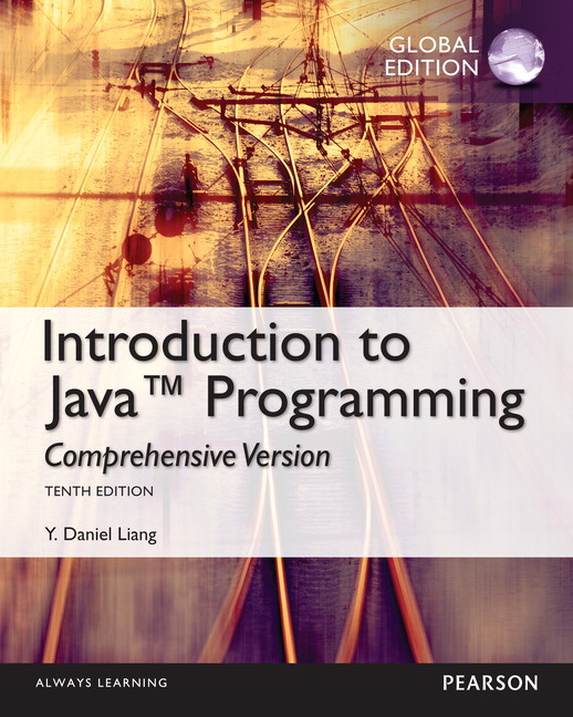 pearson intro to java programming comprehensive version global rh catalogue pearsoned co uk Sample Instructor Manual Sample Instructor Manual