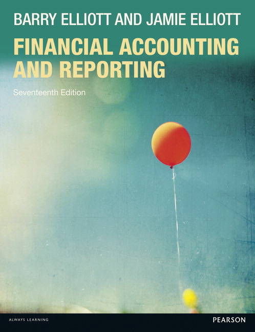 Pearson financial accounting and reporting 17e barry elliott view larger cover financial accounting and reporting 17e fandeluxe Image collections
