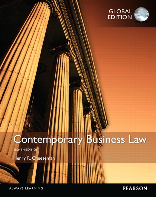 Pearson contemporary business law pdf ebook global edition 8e view larger cover contemporary business law pdf ebook global edition fandeluxe Choice Image