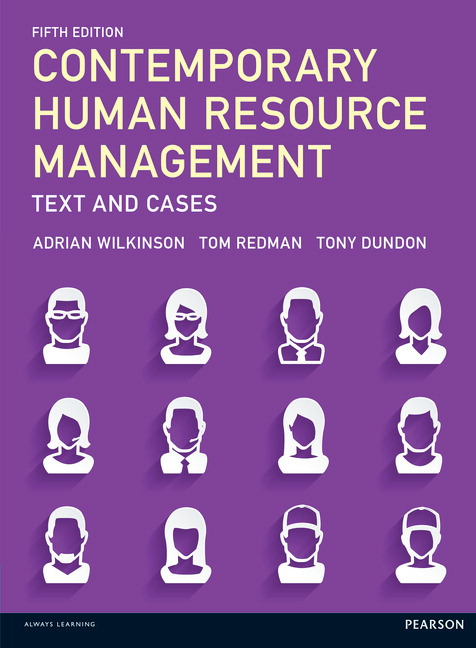 Pearson contemporary human resource management text and cases 5 view larger cover fandeluxe Images