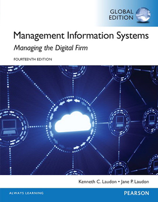 Pearson management information systems global edition 14e view larger cover management information systems fandeluxe Images
