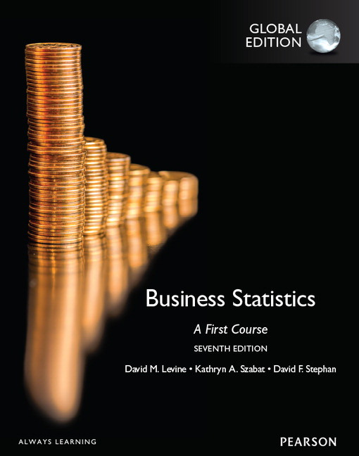 Pearson business statistics a first course global edition 7e view larger cover business statistics fandeluxe Image collections
