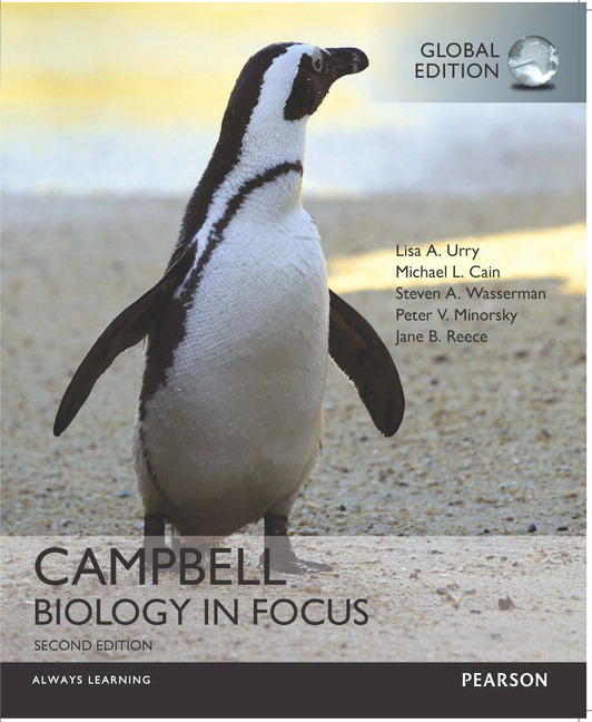 Pearson campbell biology in focus global edition 2e lisa a view larger cover campbell biology fandeluxe Images