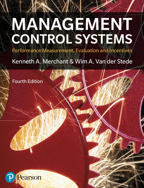 Pearson - Management Control Systems 4th Edition, 4/E - Kenneth ...