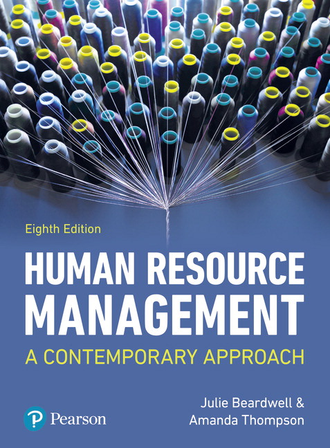 Pearson human resource management a contemporary approach 8e view larger cover fandeluxe Choice Image