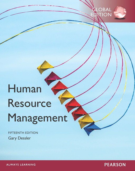 Pearson human resource management global edition 15e gary dessler view larger cover human resource management fandeluxe Choice Image