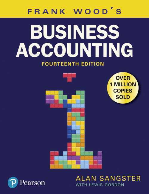 Pearson frank woods business accounting volume 1 14e alan view larger cover fandeluxe Gallery