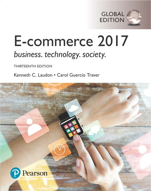 Pearson e commerce 2017 global edition 13e kenneth c laudon view larger cover fandeluxe Gallery