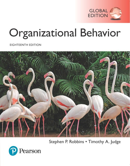 Pearson organizational behavior global edition 18e stephen p view larger cover organizational behavior fandeluxe Image collections
