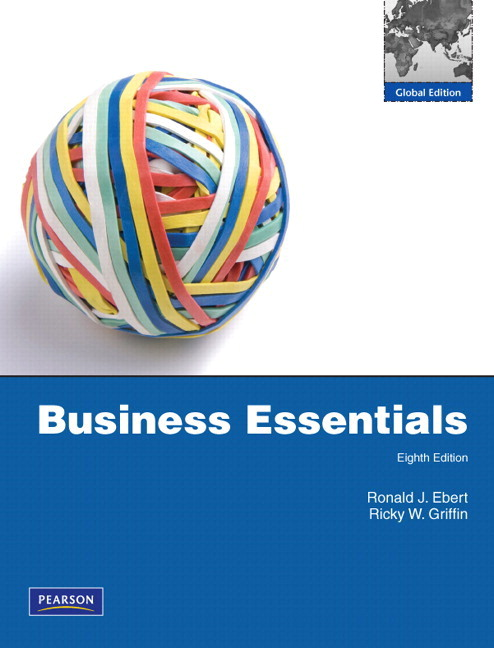 Pearson ebert and griffin business essentials plus mylab intro to view larger cover ebert and griffin business essentials fandeluxe Choice Image