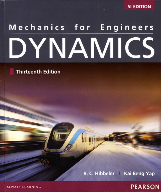 Pearson mechanics for engineers dynamics 13e si with view larger cover fandeluxe Choice Image