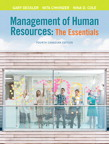 Management of Human Resources, Fourth Canadian Edition, 4/e [book cover]