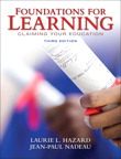 Foundations for Learning: Claiming Your Education, 3/e [book cover]