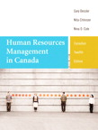 Human Resources Management in Canada, Twelfth Edition, 12/e [book cover]