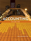 Accounting, Volume 1, Ninth Canadian Edition, 9/e [book cover]