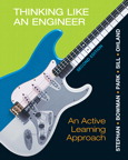 Thinking Like an Engineer: An Active Learning Approach, 2/e/e