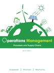 Operations Management: Processes and Supply Chains, 10/e [book cover]